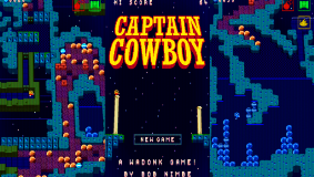 Captain Cowboy - an interesting adventure through a giant asteroid space maze