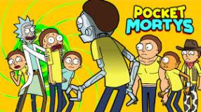 Pocket Mortys - exploring new free trendy game