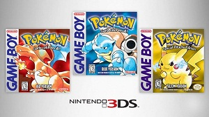 Classic Pokemon Red, Blue, Yellow 3DS Break eShop Records