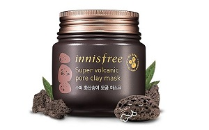 [REVIEW] INNISFREE SUPER JEJU VOLCANIC PORE CLAY MASK