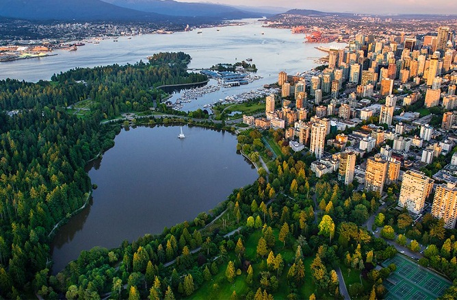 The Best City Parks in Canada