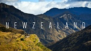 New Zealand - Carpet gigantic puzzle with spectacular scenery