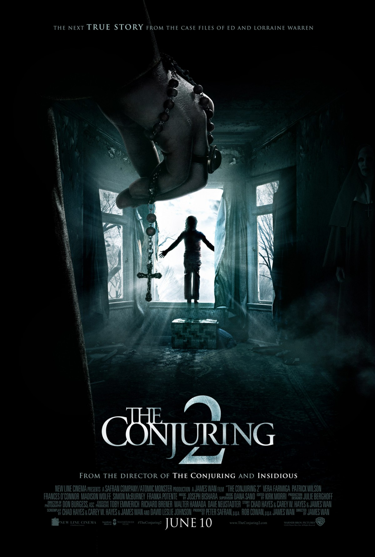 The Conjuring 2 2016 Reviews - 2 Times Make Audiences Scared
