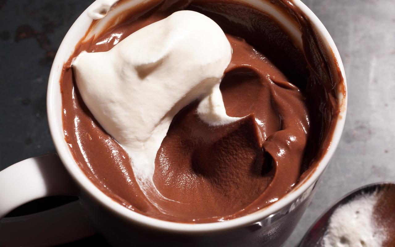 Cooking Recipes: Dark Chocolate Pudding