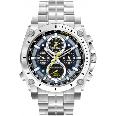 Watch Reviews: Bulova Precisionist Chronograph