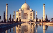 India is one of the tourist paradises in Asia