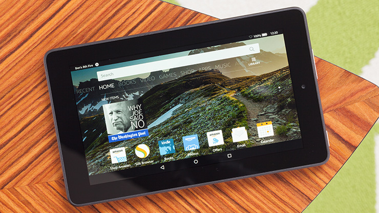 Amazon Fire Tablet Review -  Tablet for just £50