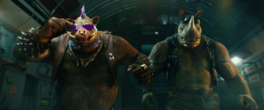 TEENAGE MUTANT NINJA TURTLES 2016 : OUT OF THE SHADOWS