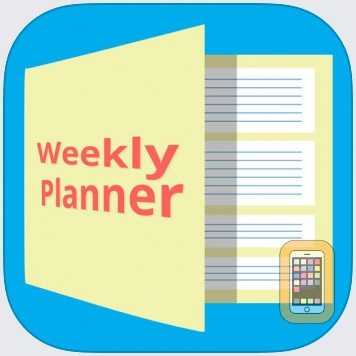 Weekly Planner App For IOS - Developed By Ruslan Dimitriev