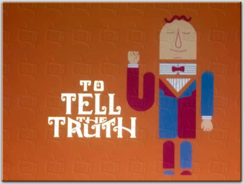 TV Game Show: To Tell the Truth