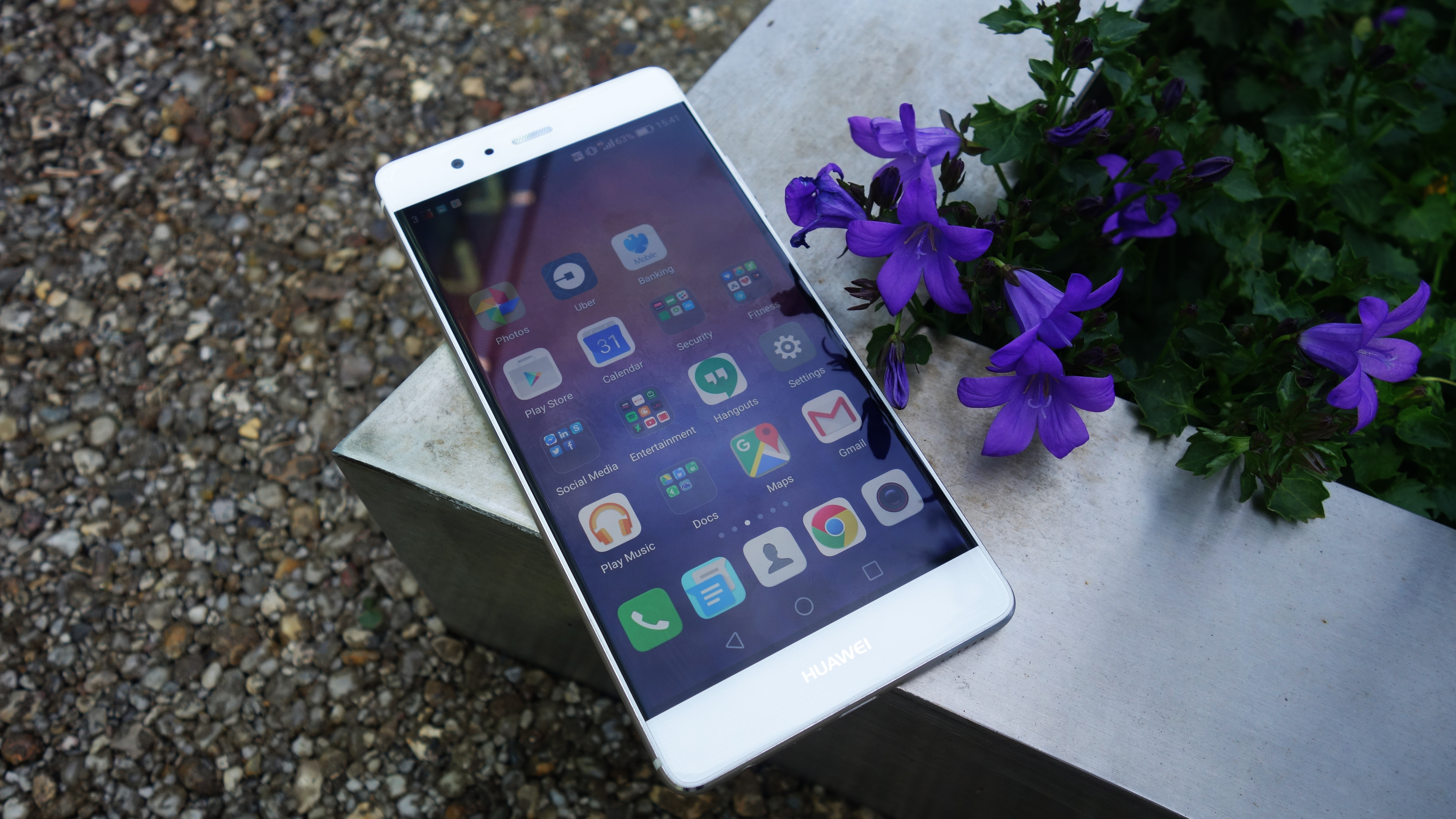 Huawei Cell Phones: Huawei P9 Review : Design, Display, Sofware