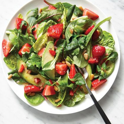 Strawberry Avocado Salad Recipe -  Fresh Dish For Summer