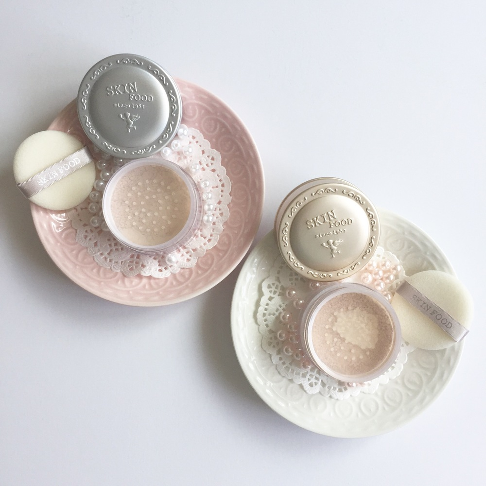 Skinfood Buckwheat Loose Powder and Rice Shimmer Power Review