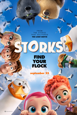 Storks 2016 Review -  'Storks' Is a Kids' Movie for Adults