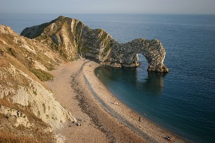 Durdle Door Beach, England beautiful beaches