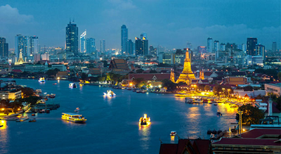 Bangkok's Modern beauty well blended into Thai cultural value