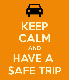 keep calm and have a safe trip travel tips for women