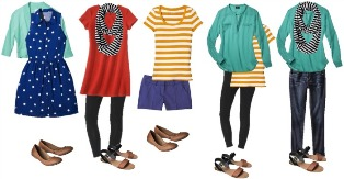 mix and match when cruise packing tips