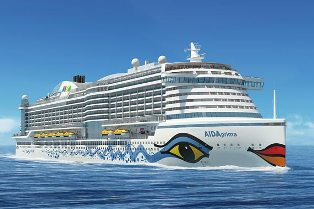 AIDAprima cruise ship to european destinations
