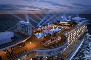 Regal Princess cruise ship for europe destination vacation