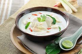 Tom Kha Kai (Chicken in Coconut Soup)