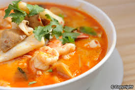 Tom Yum Goong (Spicy Shrimp Soup)