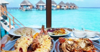 maldives food and drink