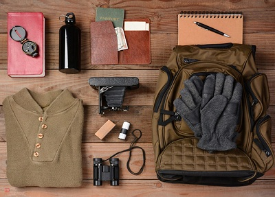 pack for a winter vacation