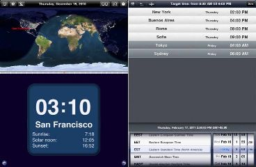 travel and weather apps for ipad