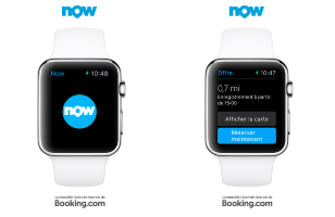 loungebuddy and booking now apps on apple watch