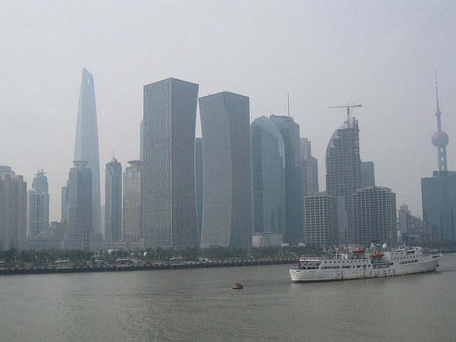 Shanghai was polluted