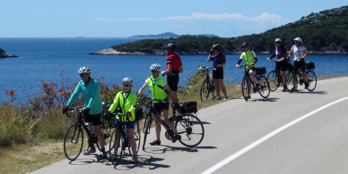 Self guided biking tour in Croatia1