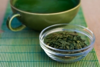 Fight belly fat by green tea