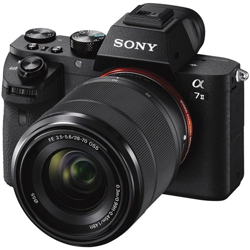 Sony alpha 7II rear