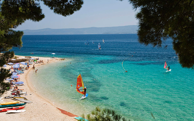 Bol on Brac, Central Dalmatia, Croatia