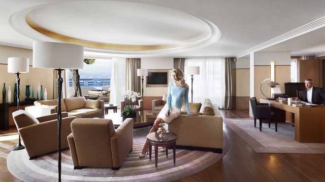 Penthouse Suite, Hotel Martinez, Cannes, France