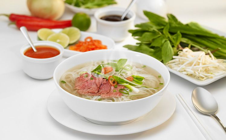 Pho is a famous dish in Viet Nam