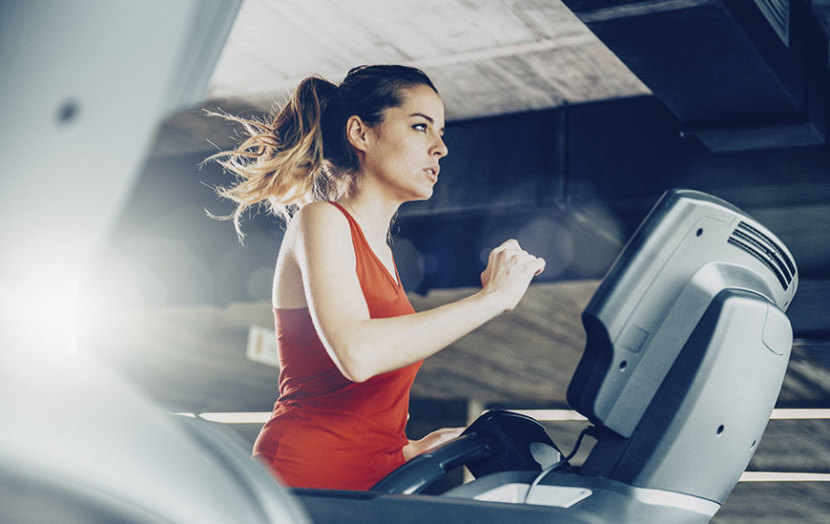work out at the same intensity level