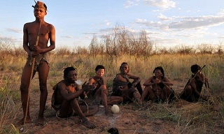 natives in botswana