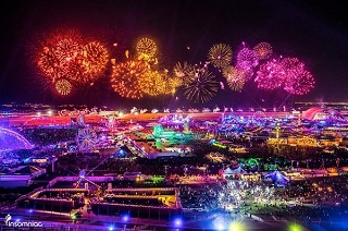 EDC - electronic music festivals