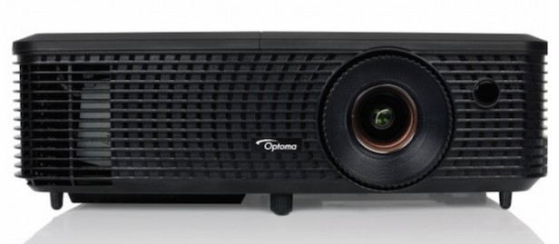 Optoma H183X - Projector reviews - Set up