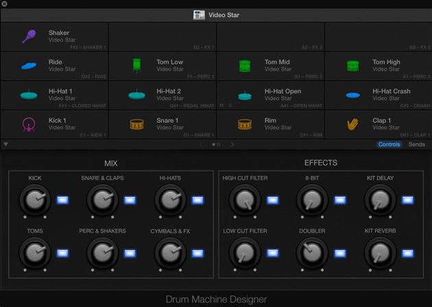 Apple Logic Pro X 10.1 Drum Machine