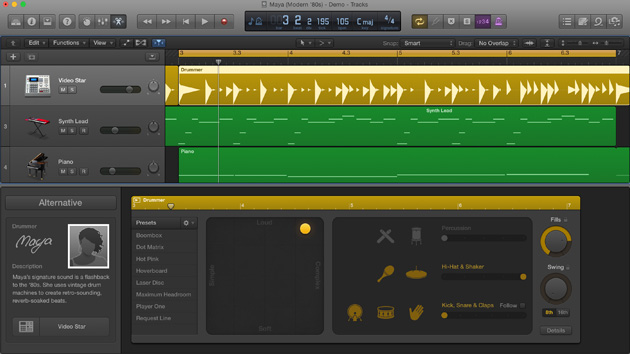 Apple Logic Pro X 10.1 Maya