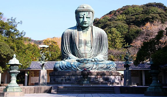 Great Buddha of Kamakura in Japan
