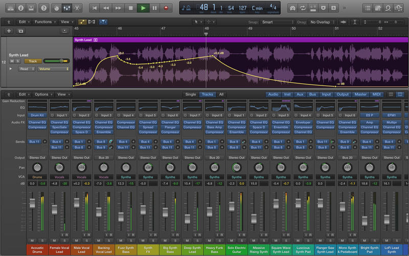Logic Pro 10.2.3 - Screen Shot