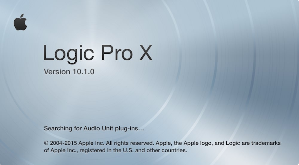Logic Pro X 10.1 version