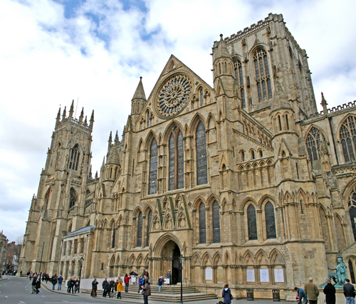 Cathedral York in the United Kingdom
