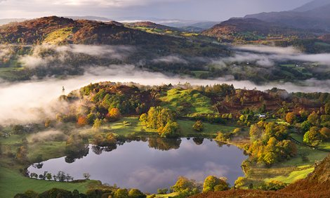 lake district in the united kingdom