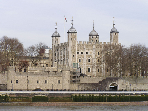 Tower of London in the United Kingdom