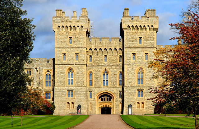 Windsor Castle in the United Kingdom